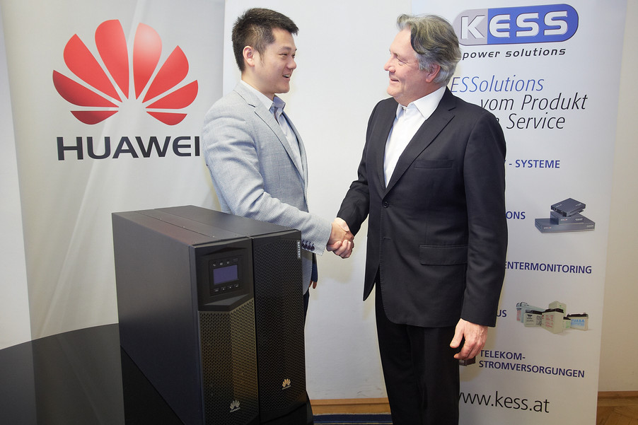 Huawei steigt in Österreich in den USV-Markt ein