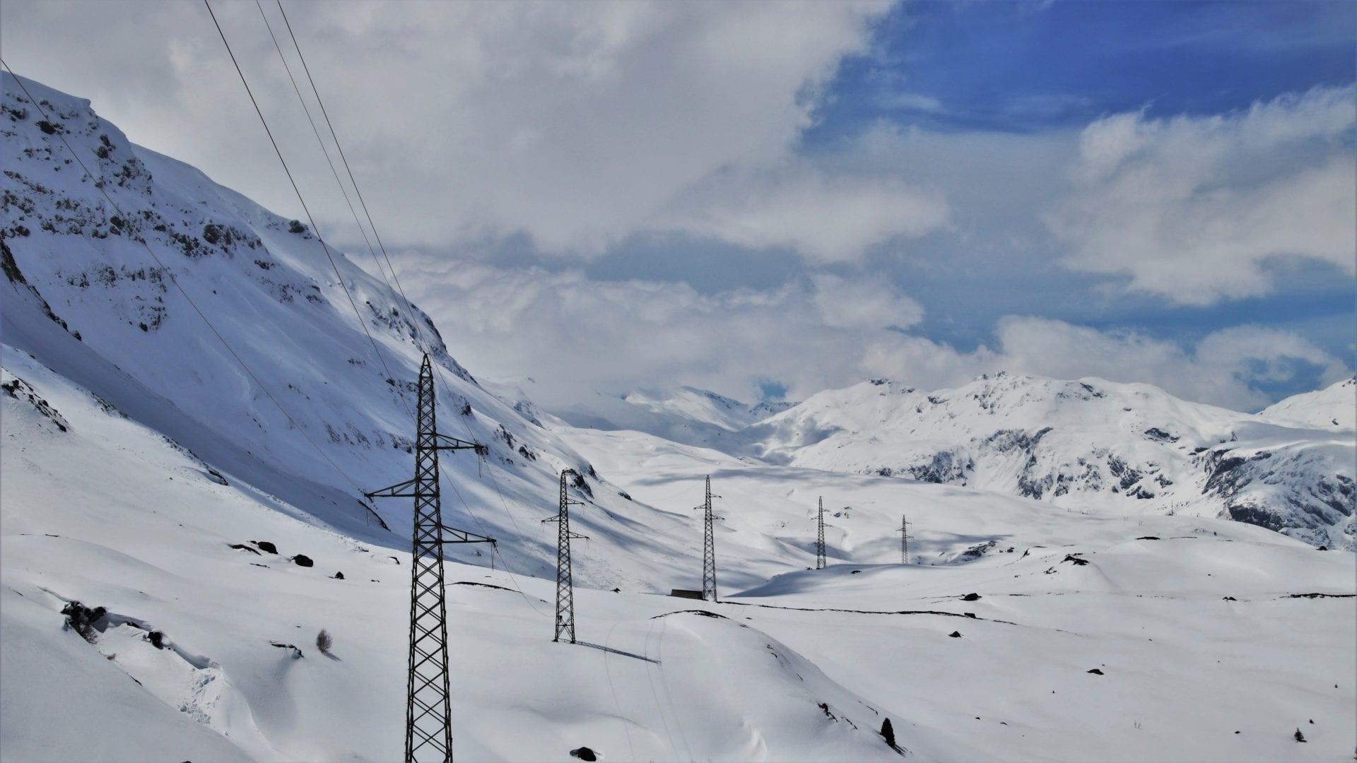 Freileitungen im Gebirge